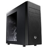 BITFENIX Casing Mid Tower ATX Neos Window - Black Black (Merchant) - Computer Case Middle Tower