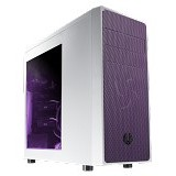 BITFENIX Casing Mid Tower ATX Neos Window - White Purple (Merchant) - Computer Case Middle Tower