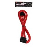 BITFENIX Molex extension 45cm - Red (Merchant) - Cable / Connector Internal Pc Power