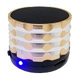 BITS Bluetooth Speaker [5NU] - Gold - Speaker Bluetooth & Wireless