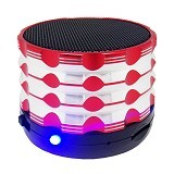 BITS Bluetooth Speaker [5NU] - Red - Speaker Bluetooth & Wireless