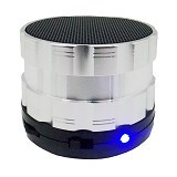 BITS Bluetooth Speaker [5NU] - Silver - Speaker Bluetooth & Wireless