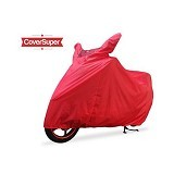 BJ MOTOR Cover Super Motor Warna - Merah - Cover Motor