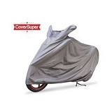 BJ MOTOR Cover Super Motor Warna - Silver - Cover Motor