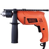 BLACK & DECKER Hammer Drill [HD555-B1] - Bor Mesin