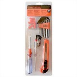 BLACK & DECKER Home and Office Tool Kit 31pc [BD80338-840] - Tool Set