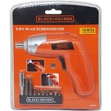 BLACK & DECKER Screwdriver [KC3610-B1] - Obeng Elektrik