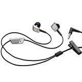 BLACKBERRY Porsche Design Premium Stereo Earphones Original - Silver - Earphone Ear Bud