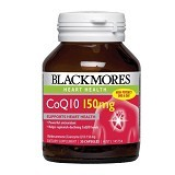 BLACKMORES CoEnzyme Q10 Enzyme 150mg 30 Capsules [BMCOQ1030C] - Suplement Pencegah Penyakit Jantung / Kolesterol