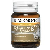 BLACKMORES Executive B Stress Formula 28 Tablet [BMSF28C] - Suplement Peningkat Metabolisme Tubuh