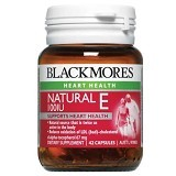 BLACKMORES Natural Vitamin E 100IU - 42 Caps - Suplement Peningkat Metabolisme Tubuh