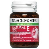 BLACKMORES Natural Vitamin E 250IU - 50 Caps - Suplement Peningkat Metabolisme Tubuh