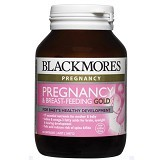 BLACKMORES Pregnancy and Breastfeeding Gold 60 Caps [BMPBF60C] - Suplemen Kewanitaan