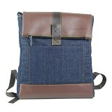BLEUGENES Tas Denim Forest - Notebook Backpack