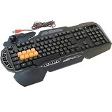 BLOODY LightStrike Infrared Switch Gaming Keyboard [B318] (Merchant) - Gaming Keyboard