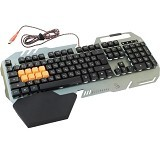 BLOODY LightStrike Infrared Switch Gaming Keyboard [B418] - Silver (Merchant) - Gaming Keyboard