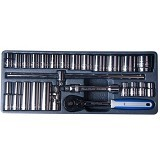 BLUE POINT 1/2 Square Drive Socket Set [BPS12] - Kunci Sok Set