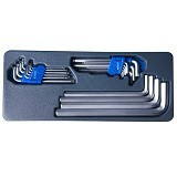 BLUE POINT Kunci L/L Shape Wrench Set [BPS-14] - Kunci L / Hex