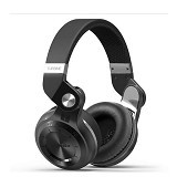 BLUEDIO Stereo HiFi Headphones[T2-WH] - Black (Merchant) - Headset Bluetooth