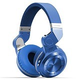 BLUEDIO T2 Bluetooth Headset - Blue (Merchant) - Headset Bluetooth