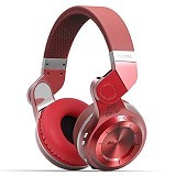 BLUEDIO T2 Bluetooth Headset - Red - Headset Bluetooth