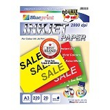 BLUEPRINT Inkjet Paper Double Sided 220 gsm A3 (Merchant) - Kertas Foto / Photo Paper