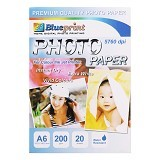 BLUEPRINT Photo Paper Glossy 200 gsm A6 (Merchant) - Kertas Foto / Photo Paper