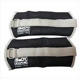 BODY SCULPTURE Soft Wrist Ankle Weights 2lb [BS73] - Hitam - Other Exercise