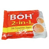 BOH Instant Tea Mix 2 in 1 No Sugar (Merchant) - Teh Instan & Celup