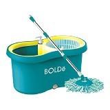 BOLDE Super Mop [M-169X] + New Pel Lantai - Blue (Merchant) - Pembersih Lantai