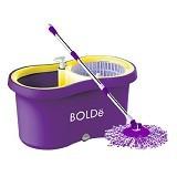 BOLDE Super Mop [M-169X] + New Pel Lantai - Purple (Merchant) - Pembersih Lantai