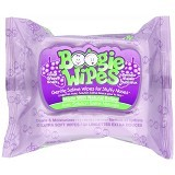 BOOGIE WIPES Extra Soft Wipes Great Grape Scent 30 ct [OBW02] - Baby Wipe / Tissue Basah