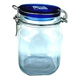 BORMIOLI Fido Blue Top Jar 100Cl [149530] - Toples