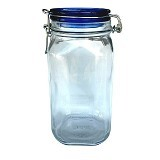 BORMIOLI Fido Blue Top Jar 150Cl [149540] - Toples