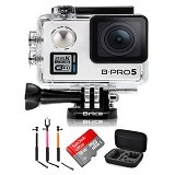 BRICA B-PRO5 Alpha Plus Edition Paket A - White - Camcorder / Handycam Flash Memory