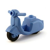 BRICK FORGE Scooter - Medium Blue - Model Motorcycle