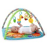 BRIGHT STARS Activity Gym Zippy Zoo [52169] - Gym and Playmate for Baby / Kids