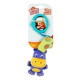 BRIGHT STARS Chime Along Friends Hippo [8487-hp] - Mainan Gantung / Stroller Toy