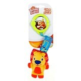 BRIGHT STARS Chime Along Friends Lion [8487-lion] - Mainan Gantung / Stroller Toy