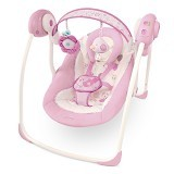 BRIGHT STARS Comfort & Harmony Portable Swing Florabella [60008-1208] - Baby Highchair and Booster Seat