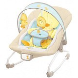 BRIGHT STARS Comfort and Harmony Rocker Baby Bouncer Snuggle Duckling [6978] - Baby Highchair and Booster Seat