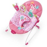 BRIGHT STARS Happy Tweets Bouncer Music & Vibrate [60547] - Baby Highchair and Booster Seat
