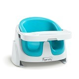 BRIGHT STARS Ingenuity Baby Base 2 in 1 Aqua [60279] - Baby Highchair and Booster Seat