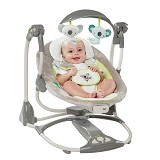 BRIGHT STARS Ingenuity ConvertMe Swing 2 Seat Brighton[60378] - Baby Highchair and Booster Seat