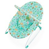 BRIGHT STARS Jolly Safari Bouncer Music [60252-b] - Baby Highchair and Booster Seat