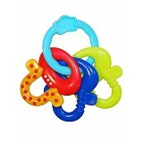 BRIGHT STARS License to Drool Keys [8172] - Blue - Dot Bayi / Pacifier & Teethers