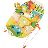 BRIGHT STARS Little Explorer Bouncer Music & Vibrate [60255] - Baby Highchair and Booster Seat