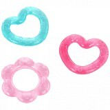 BRIGHT STARS Pretty in Chill and Teethe [8673] - Pink - Dot Bayi / Pacifier & Teethers
