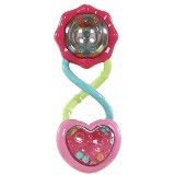 BRIGHT STARS Rattle and Shake Barbell [8672] - Pink - Dot Bayi / Pacifier & Teethers