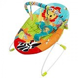 BRIGHT STARS Roaming Safari Bouncer Music [60133] - Baby Highchair and Booster Seat